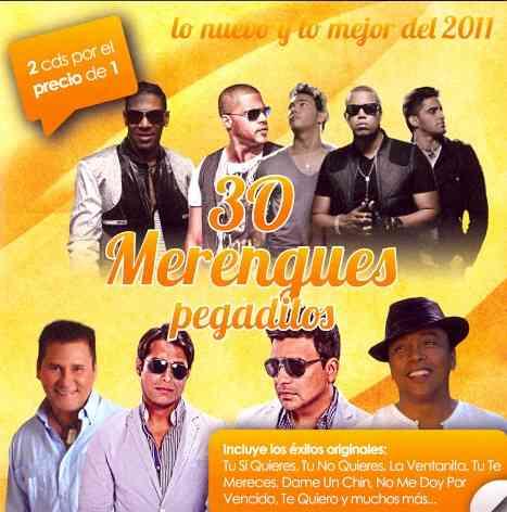 30 MERENGUES PEGADITOS LO NUEVO Y LO (CD)